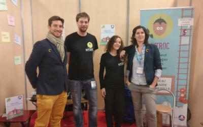 COREUM était présent au salon des maires avec son partenaire Mytroc.fr